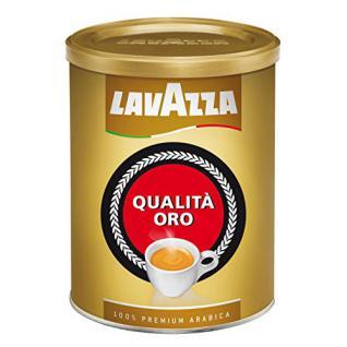 Lavazza Kaffee Qualita Oro, Espresso Arabica Röstkaffee, Bohnenkaffee Gemahlen, 250g Dose