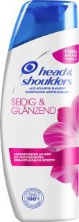 head and shoulders Anti Schuppen Schampoo seidig glänzend 300ml