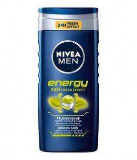 Nivea Duschgel Energy Pflegedusche for men 24h Fresh Effect 250ml