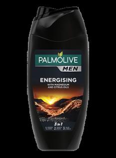 Palmilive for Men Duschgel und Shampoo 3 in 1 mit Energising 250ml 6er Pack