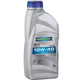Ravenol DLO SAE 10W 40 Leichtlauf Motorenöl für Diesel Motoren 1L