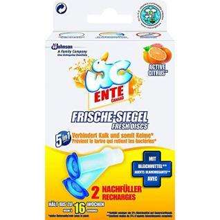 Wc-Ente Frische-Siegel Nachfüller Active Citrus 5in1 (2x36ml) - Vorschau