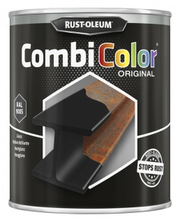 Rust Oleum - Combi Color Hochglanz Aerosol tiefschwarz - 750ml
