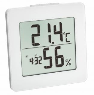 Thermo-Hygrometer Weiß