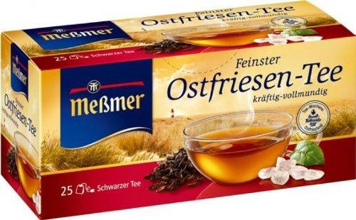 Meßmer Feinster Ostfriesen Tee kräftig und vollmundig 25 Teebeutel