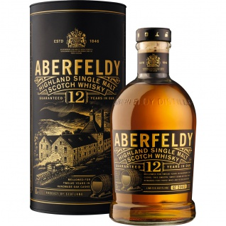 Aberfeldy Highland Single Malt Whisky 12 Jahre gereift 700ml