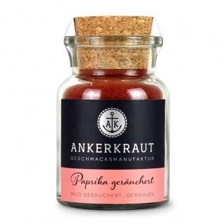 Ankerkraut Paprika gemahlen mild geräuchert im Korkenglas 80g