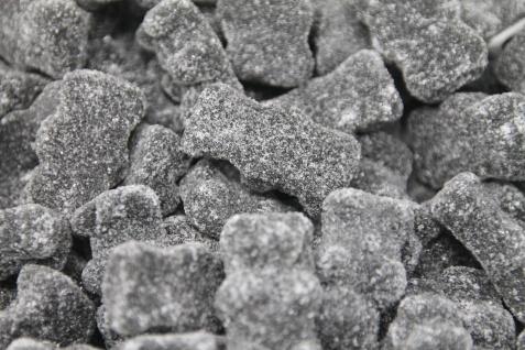 Lakritz Anis Bären mit Süßholz Geschmack und Zucker Überzug 1000g