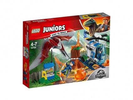 Lego Jurassic World 10756 Flucht vor dem Pteranodon Fliehe von Jurassic Island
