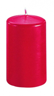 Kerzen Stumpenkerzen Candle rubin 100x70mm RAL Qualität 1 Stück