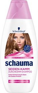 Schauma Seiden-Kamm Durchkämm-Shampoo, 4er Pack (4 x 400 ml)