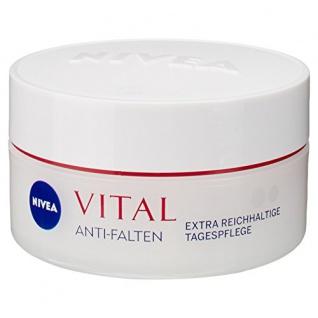 Nivea Vital Anti-Falten Extra Reichhaltige Tagespflege, 1er Pack (1 x 50 ml)