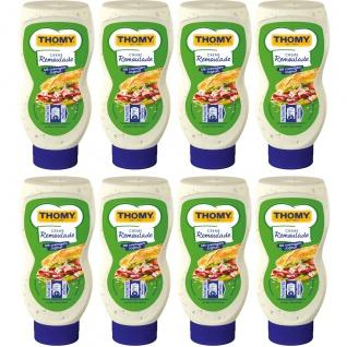 Thomy Creme Remoulade mit cremigem Joghurt und Kräutern 230ml 8er Pack