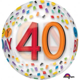 Orbz Happy Birthday Rainbow 40