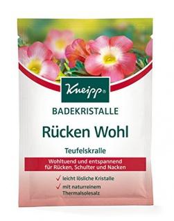 Kneipp Badekristalle Rücken Wohl, 6er Pack (6 x 60 g)