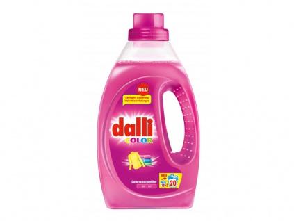 Dalli Color Waschmittel mit Leuchtkraft Formel 20WL 1100ml 3er Pack