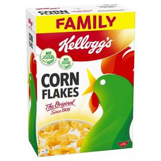 Kelloggs Corn Flakes Klassiker XXL Packung Frühstückscerealien 1000g