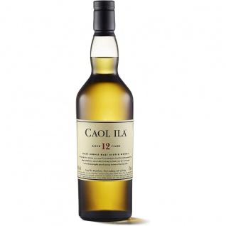 Caol Ila Single Malt Scotch Whisky 12 Jahre trocken und süß 700ml