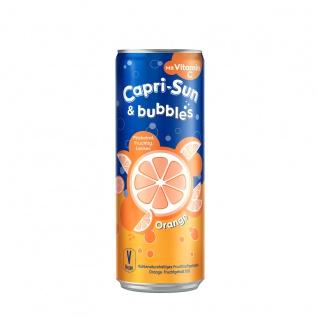 Capri Sun und Bubbles Orange Kohlensäurehaltiges Getränk 330ml