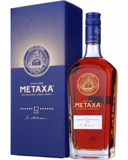 MetaxaBrandy The original greek spirit 12SterneWeinbrand 700ml, 40% Vol.