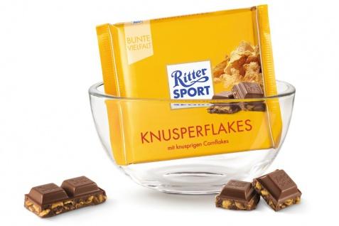 Ritter Sport Knusper Flakes mit knusprig krossen Cornflakes 100g