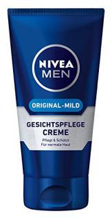 Nivea Men Original-Mild Gesichtspflege Creme, 1er Pack (1 x 75 ml)