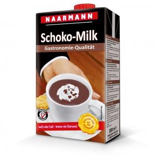 Naarmann Schoko Milk 1.5 Prozent Fett ideal für Gastronomie 1000ml