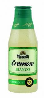 Mazzetti Cremoso Bianco, Crema Di Balsamico, 5er Pack (5 x 215 ml)