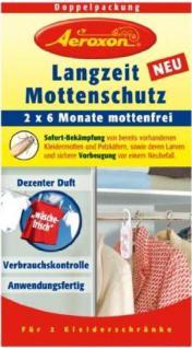 Aeroxon Langzeit-Mottenschutz zum Aufhängen, 6 Monate, 2-teilig (1 Set) - Vorschau