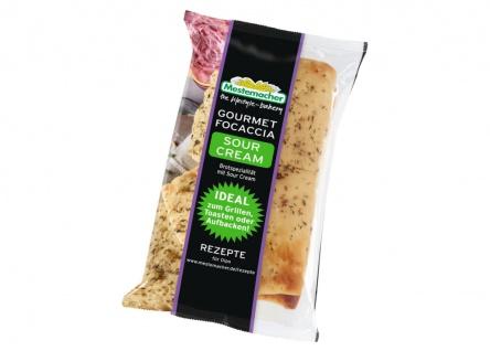 Mestemacher Gourmet Focaccia Sour Cream 250g