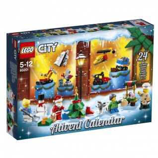 Lego City 60201 Adventskalender passend zu der Weihnachtszeit