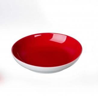 Ritzenhoff und Breker Doppio rot Schale Flirt aus Porzellan 175mm