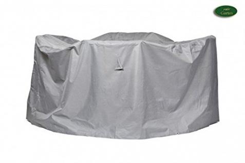 Schutzhülle Sitzgruppe rund aus Polyester Oxford 600D Durchmesser: 320 cm