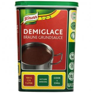 Knorr Demiglace Braune Grundsauce Großpackung für Gastro 1000g
