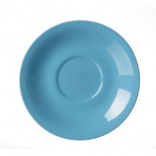 Ritzenhoff und Breker Doppio hellblau Jumbo Untertasse 17 cm