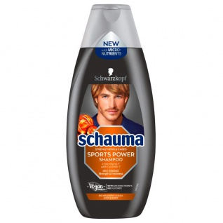 Schauma Sports Shampoo, 4er Pack (4 x 400 ml)
