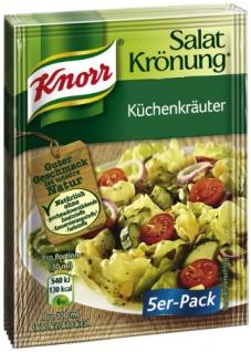 Knorr Salatkrönung Küchenkräuter, 5 x 5 Beutel (5 x 450 ml)