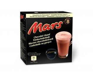 Mars Hot Chocolate Pods Dolce Gusto 136g, 8 Stück entspricht 8 Tassen