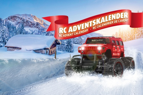 Revell 01022 Adventskalender Radio Controlled Truck 2019 ab 8 Jahren