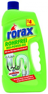 rorax Rohrfrei Bio Power Gel 1000ml