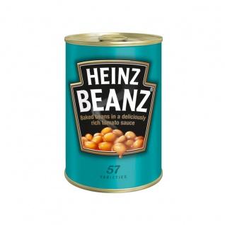 Heinz Beanz Gebackene weiße Bohnen in Tomatensauce 415g 6er Pack
