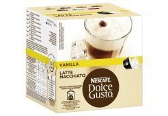 NESCAFÉ Dolce Gusto Latte Macchiato Vanilla Kaffee 16 Kapseln 3er Pack
