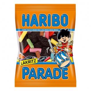 Haribo Lakritz Parade Mischung mit Lakritz Konfekt und Dragees 200g