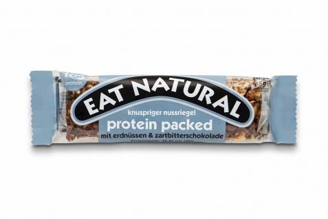 Eat Natural protein packed mit Erdnüssen Zartbitterschokolade 45g