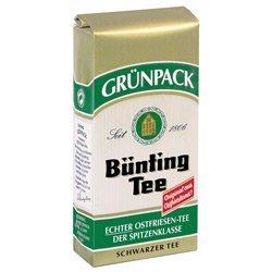 Bünting Tee Grünpack Schwarzer Tee Original aus Ostfriesland 500g