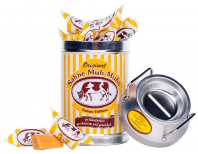 Original Sahne Muh-Muhs Nostalgie Milchkanne Menge:250g