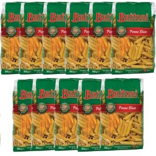 Buitoni Penne Lisce Selezionata di Grano Duro Pasta 500g 11er Pack