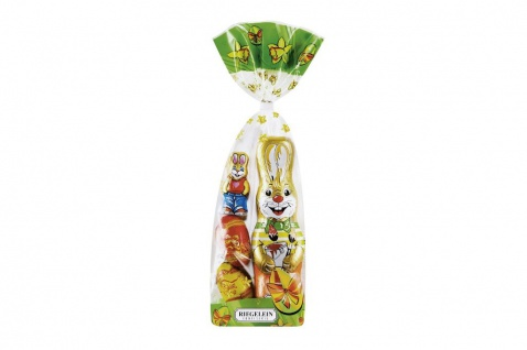 Riegelein Oster Mischbeutel aus feiner Vollmilch Schokolade 100g