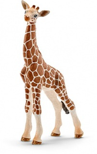 Schleich 14751 Wild Life Spielzeugfigur Giraffenbaby handbemalt