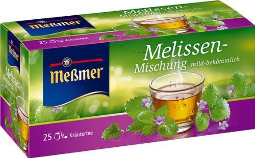 Meßmer Melissen Mischung mild und frischer Geschmack 5er Pack